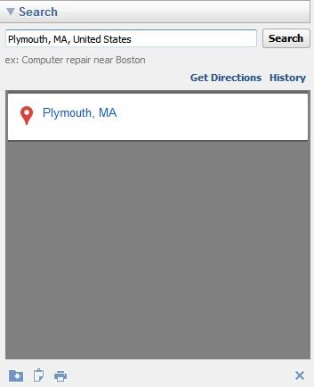 Location search