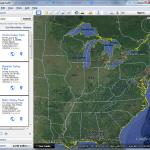Improvements to search in Google Earth