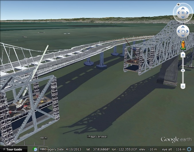New 3D causing Street View crash in New York and San Francisco – View Street Map Google Earth