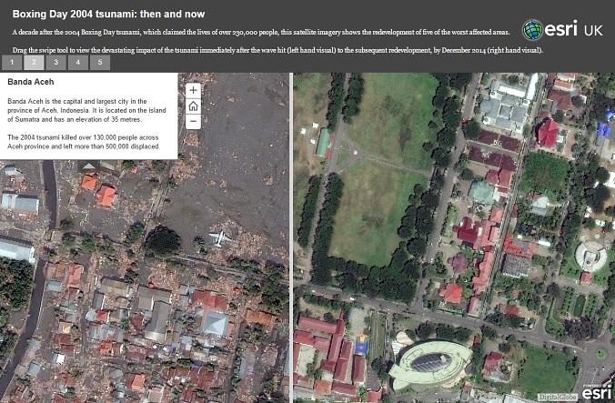 Aceh Phenomenon Through Google Earth