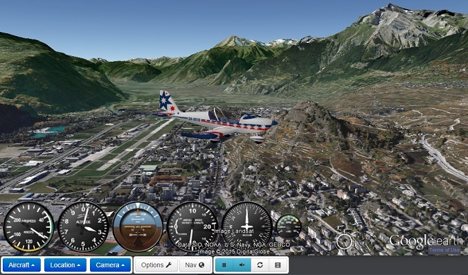 Flying over Sion