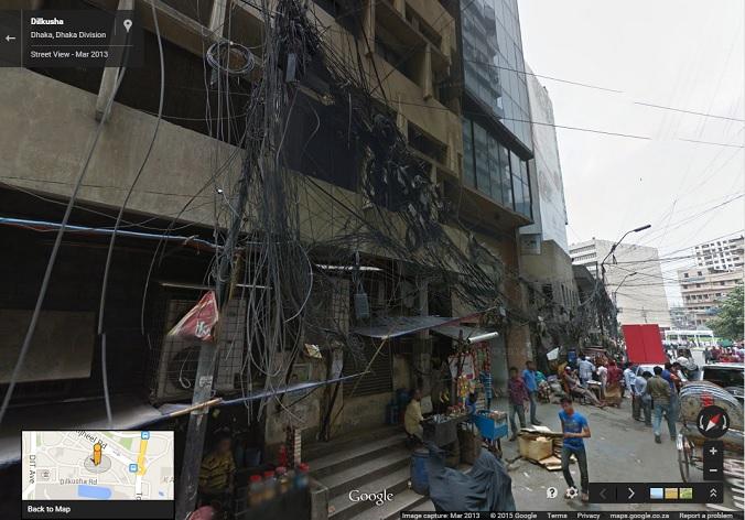 Street View Dhaka