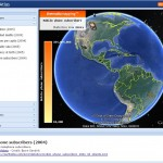 Google Earth plugin showcase: Thematic Mapping Api