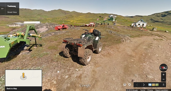 Street View Vehicle Greenland