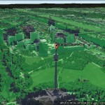Google Earth Pro: Viewshed tool