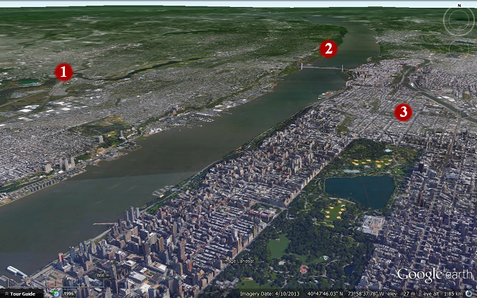 View distance of 3D in Google Earth | My Google Map Blog