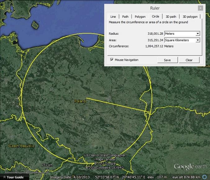 Area of Poland