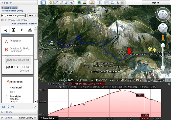 Google Earth Elevation Profiles Google Earth Blog - Google maps elevation layer