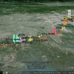 Google Earth plugin showcase: Trans Taiwan Ultra-Marathon