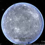 The Planet Mercury in Google Earth