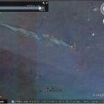 Oil Slick from Oil Platform Explosion in Google Earth