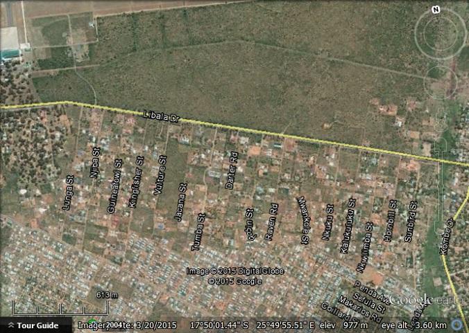Livingstone Street Names