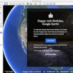 New Content for Google Earth's 10th Anniversary