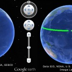 Crossing the antimeridian Google Earth