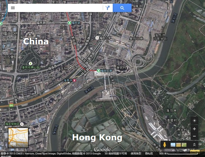 Chinese Street Maps Out Of Alignment In Google Earth And Google