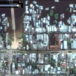 2015 Brazil floods in Google Earth