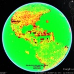 Historical imagery density in Google Earth: Part 2