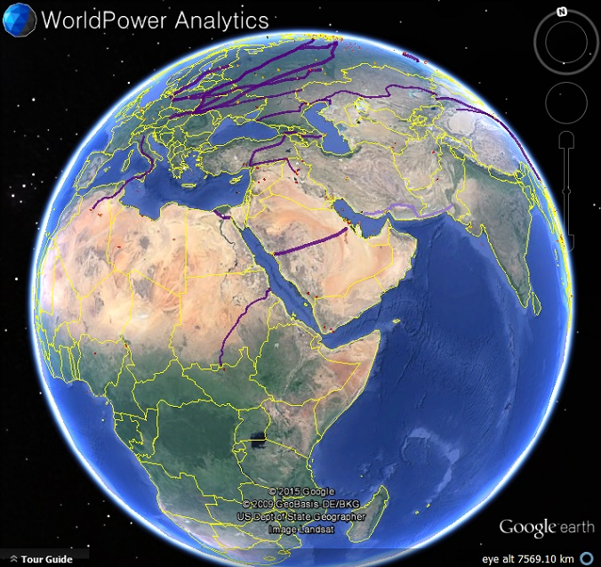 World Power Map My Google Map Blog - Google maps globe