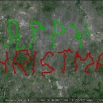 Happy Christmas with Google Earth directions