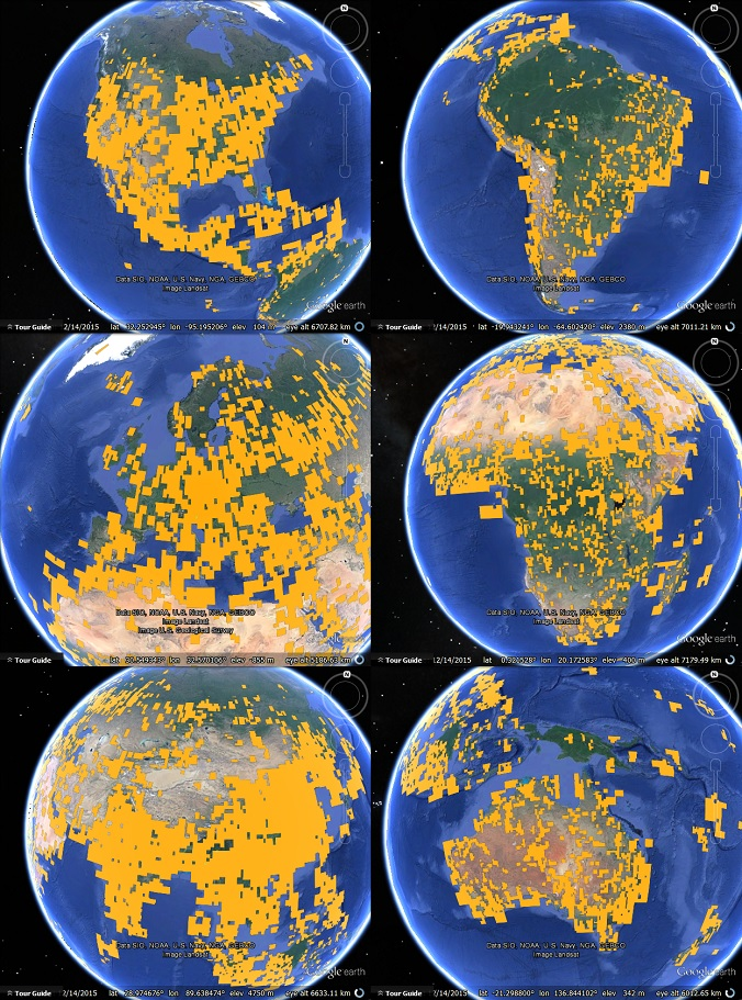 Satellite imagery updates for 2015 google earth blog to see the above map in google earth download this kml file gumiabroncs Choice Image