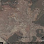 The Bento Rodrigues dam disaster in Google Earth