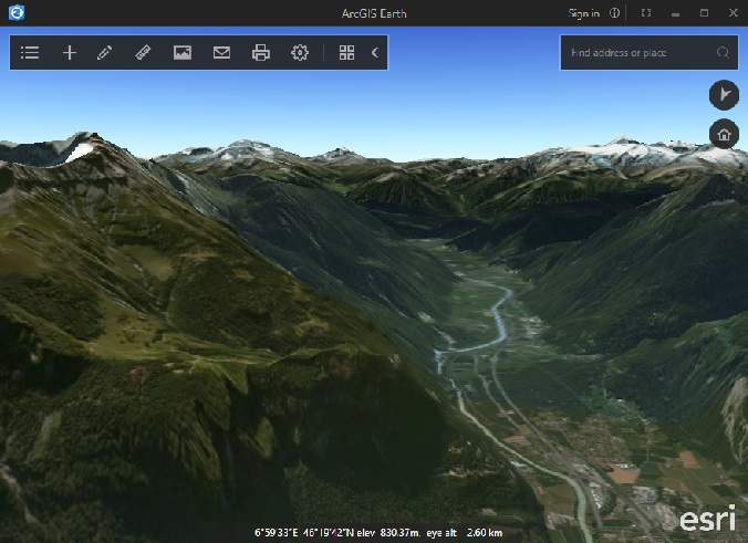 ESRI releases ArcGIS, a free alternative to Google Earth for