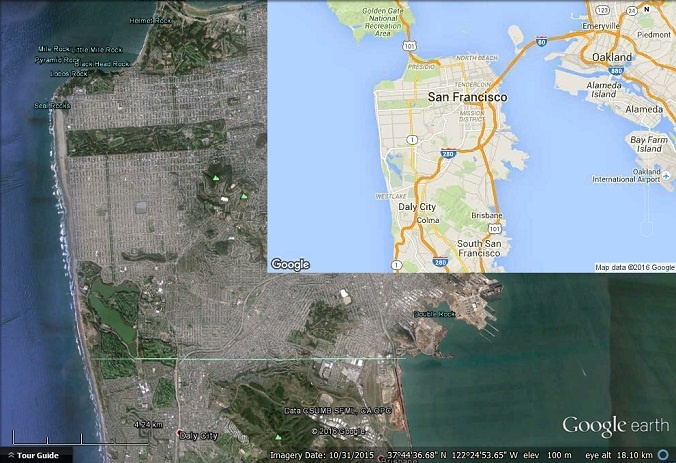 difference between google earth and google maps