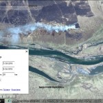 Mini-Google Earth application demo: imagery switcher