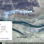 Mini-Google Earth application demo: imagery switcher