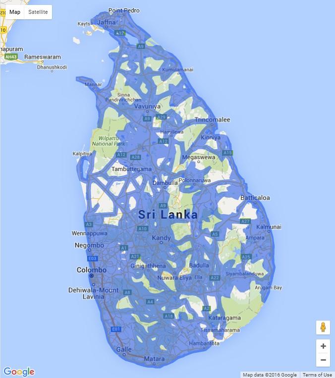 Sri Lanka gets Street View Google Earth Blog – View Maps in Google Earth