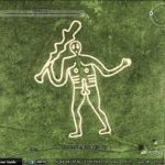 Phallic symbols in Google Earth