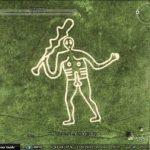 Phallic symbols in Google Earth