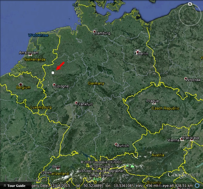 Map Of Germany Google Earth.How Much Data Do Different Types Of Imagery Need My Google Map Blog
