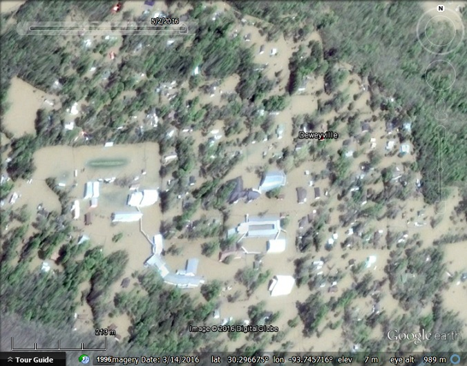 What's that image: Earthquake and floods - Google Earth Blog