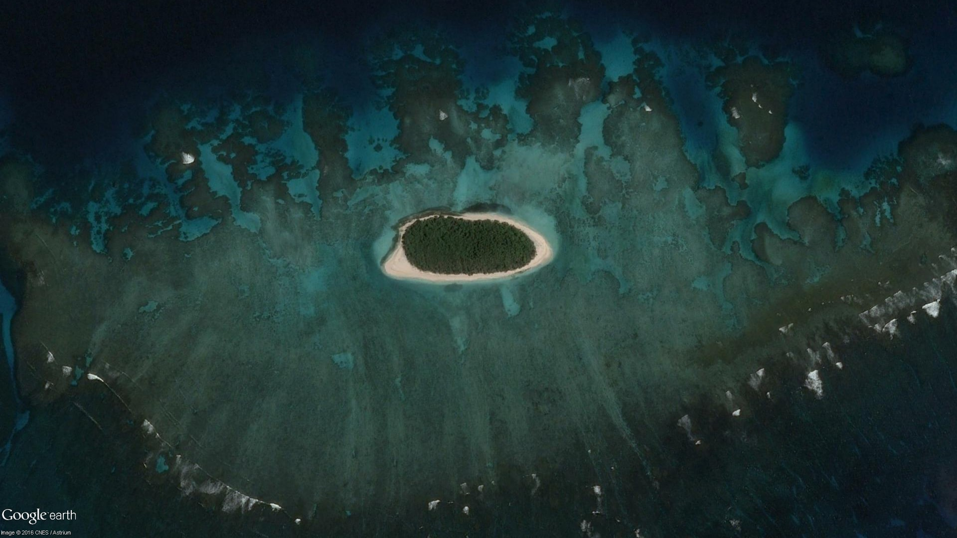 Making desktop backgrounds with Google Earth - Google