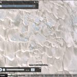Watching sand dunes move with Google Earth