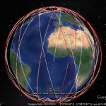 Sun-synchronous orbits with Google Earth