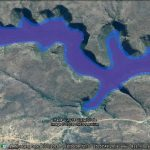 Simulating lakes with Google Earth