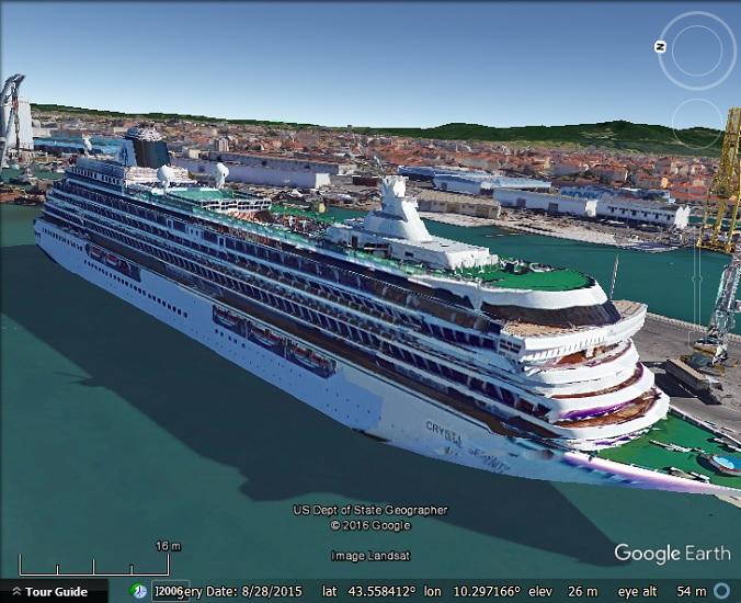 Ships In Google Earthu0026#39;s 3D Imagery - Google Earth Blog