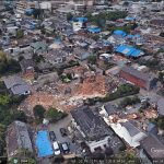 Post-earthquake Kumamoto in Google Earth 3D