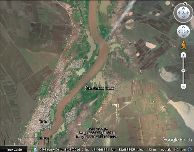 Floods around the world as seen in google earth google earth blog in early august 2016 skopje macedonia experienced severe flash flooding killing at least 21 people see this article for photos gumiabroncs Images
