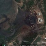 Various new sights in Google Earth imagery