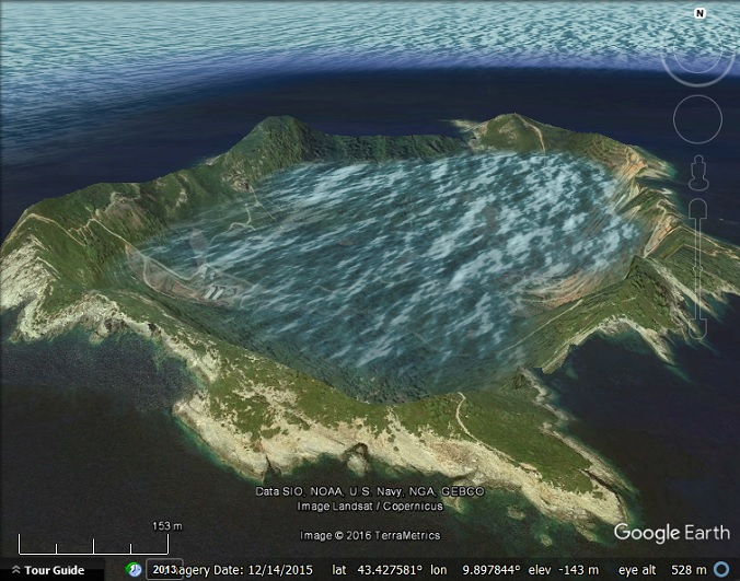 Google Earth sinks an island