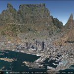Fun with Google Earth's terrain exaggeration