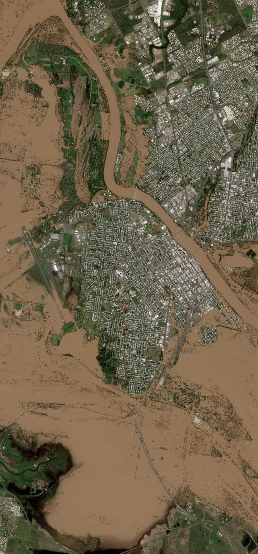 The city of Rockhampton Queensland Australia Copernicus
