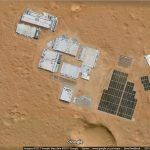 Secret Mars Base found in Google Maps