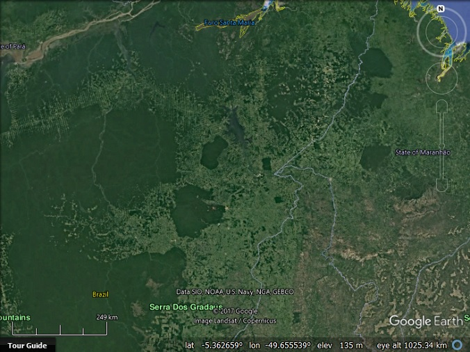 Google Maps Indigenous Territories In Canada And Brazil Google - Google map of brazil