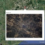 Pictures from the ISS: Photos by Thomas Pesquet in Google Earth